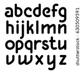 vector editable line designed... | Shutterstock .eps vector #630509591