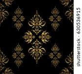 vintage golden scrolls for...   Shutterstock .eps vector #630536915