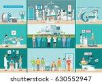 doctors and patients in... | Shutterstock .eps vector #630552947