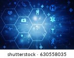 2d medical structure background | Shutterstock . vector #630558035