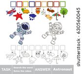 educational puzzle game for... | Shutterstock .eps vector #630560045