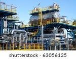 oil industry equipment... | Shutterstock . vector #63056125