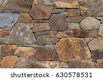 detail of a stone wall with... | Shutterstock . vector #630578531