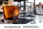 cocktail close up. bar or... | Shutterstock . vector #630581321