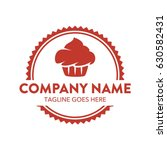 cake and cookies logo | Shutterstock .eps vector #630582431