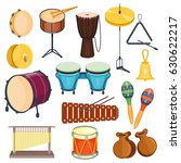 vector percussion musical...   Shutterstock .eps vector #630622217