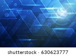 ultra hd abstract sci fi... | Shutterstock .eps vector #630623777