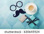 happy father s day greeting... | Shutterstock . vector #630645524