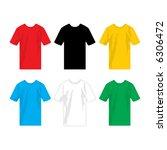 t shirt | Shutterstock .eps vector #6306472