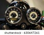 motorcycle dash | Shutterstock . vector #630647261