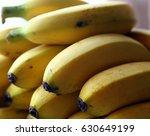 banana provides instant energy... | Shutterstock . vector #630649199