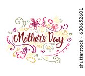 happy mother day  spring... | Shutterstock .eps vector #630652601