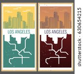 american city poster from a... | Shutterstock .eps vector #630654215