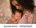 beautiful african mother in... | Shutterstock . vector #630663665