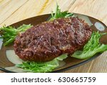 Small photo of British Meatloaf Haslet . Lincolnshire cuisine