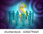 3d illustration of people... | Shutterstock . vector #630679664