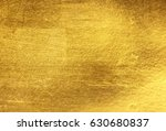 shiny yellow leaf gold foil... | Shutterstock . vector #630680837