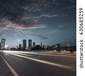 urban roads in the city | Shutterstock . vector #630685259
