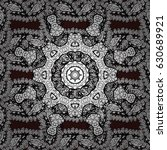 vector seamless pattern. flat...   Shutterstock .eps vector #630689921