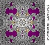 vector seamless pattern on...   Shutterstock .eps vector #630692471