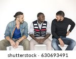 men talk communication social... | Shutterstock . vector #630693491