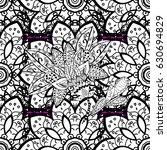 vintage seamless pattern on a...   Shutterstock .eps vector #630694829