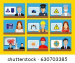 infographics elements with... | Shutterstock .eps vector #630703385