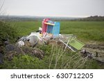 Waste Dumped In The Countrysid...