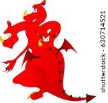 dragon | Shutterstock .eps vector #630714521