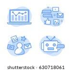 social media network icons | Shutterstock .eps vector #630718061