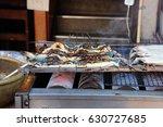 unagi  eel  or kabayaki or... | Shutterstock . vector #630727685