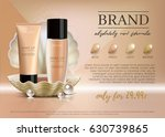 premium vip cosmetic ads ... | Shutterstock .eps vector #630739865