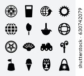collection icon. set of 16...