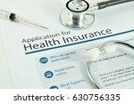 application for health... | Shutterstock . vector #630756335