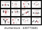 timeline infographic new style...   Shutterstock .eps vector #630773681