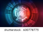 abstract technology concept.... | Shutterstock .eps vector #630778775