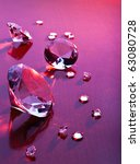 diamonds with different sizes... | Shutterstock . vector #63080728