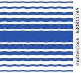 wavy sailor stripes  streaks ... | Shutterstock .eps vector #630811769