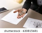 real estate deal concept.... | Shutterstock . vector #630815681