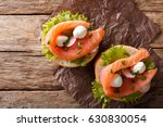 Sandwiches With Salted Salmon ...