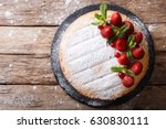 whole victoria sandwich cake ... | Shutterstock . vector #630830111