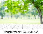 empty white table  perspective... | Shutterstock . vector #630831764