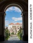 villa campolieto is a vesuvian... | Shutterstock . vector #630838979