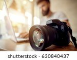 photographer off loading files... | Shutterstock . vector #630840437
