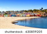 colorful residential... | Shutterstock . vector #630859205