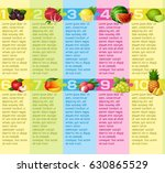 vector design layout about... | Shutterstock .eps vector #630865529