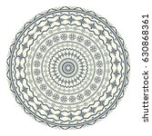 traditional romanian round... | Shutterstock .eps vector #630868361