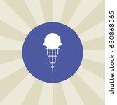 ice cream icon. sign design.... | Shutterstock . vector #630868565