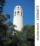 coit tower in san francisco | Shutterstock . vector #63086875