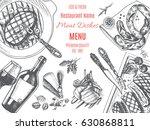 vector illustration sketch  ... | Shutterstock .eps vector #630868811